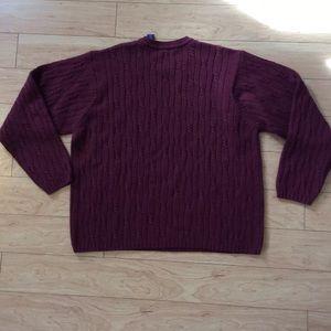 John Ashford Sweaters - J. Ashford Men's Cable Knit Sweater